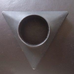 Driehoekige borstel voor stoomzuiger